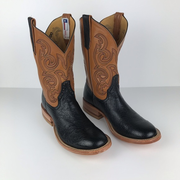 Rios Of Mercedes Cowboy Boots Smooth Ostrich Goat